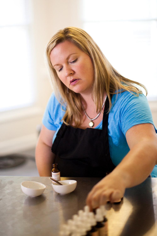 One Love Organics founder Suzanne LeRoux