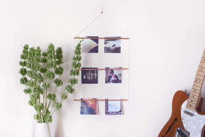 Yield Design House x Social Print Studio photo ladder. $54.