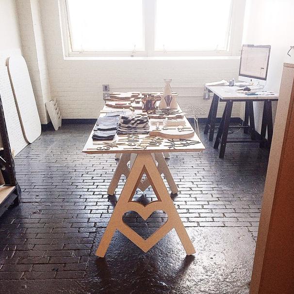 AHeirloom studio.