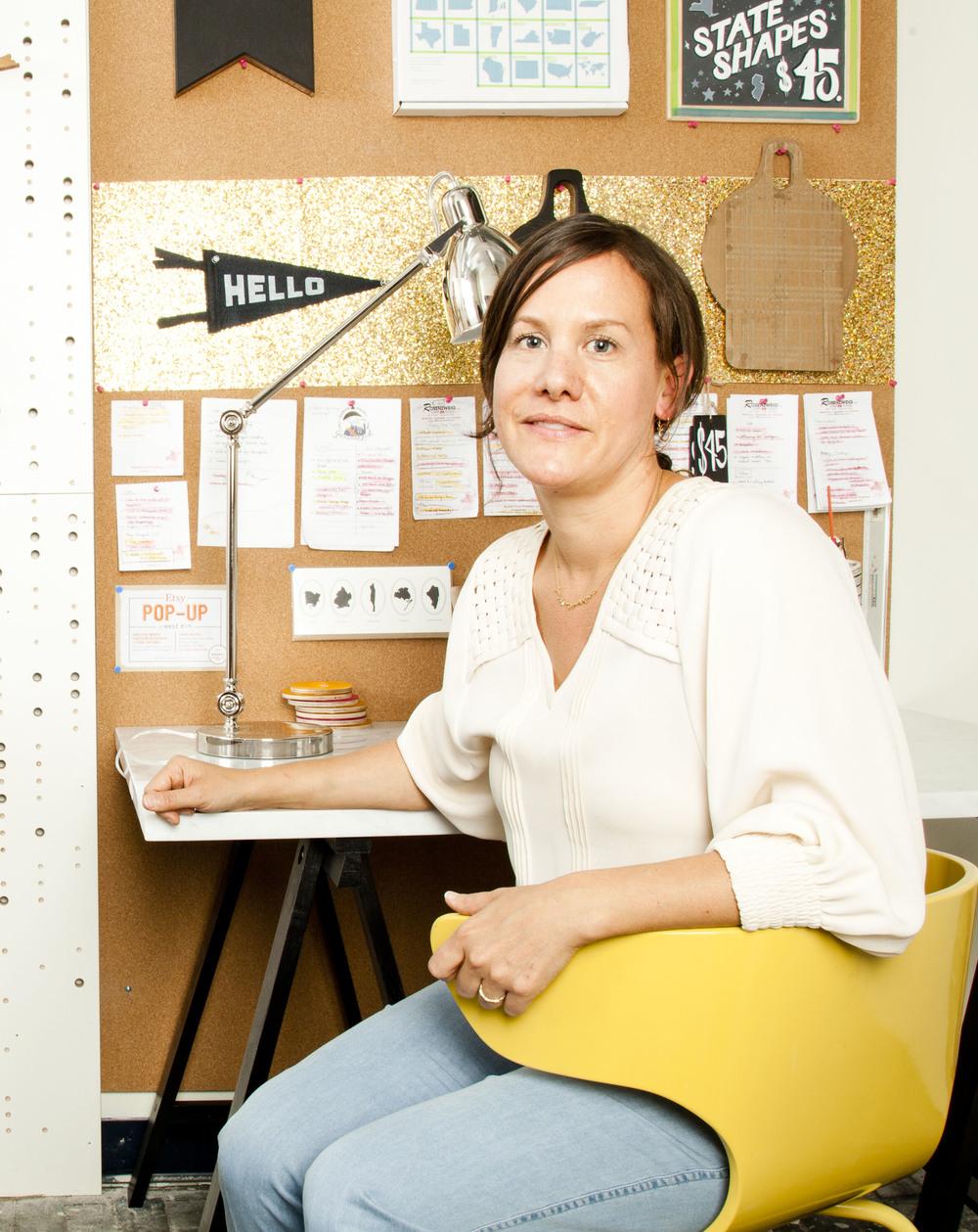 AHeirloom co-founder Amy Stringer-Mowat