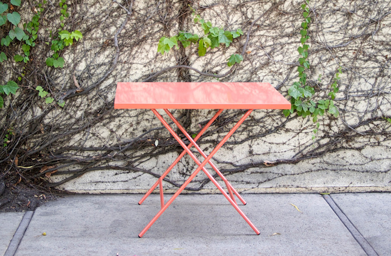 Scout Regalia foldable table, $250