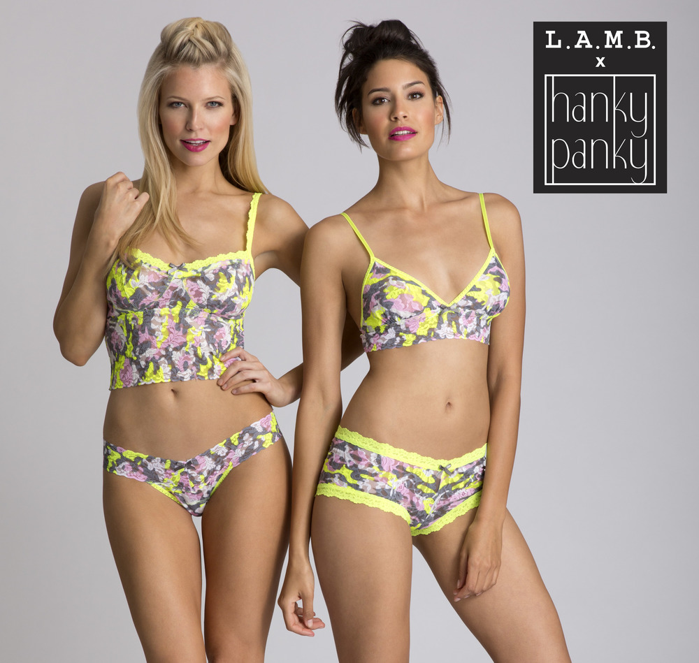 L.A.M.B. x Hanky Panky launches July 11th