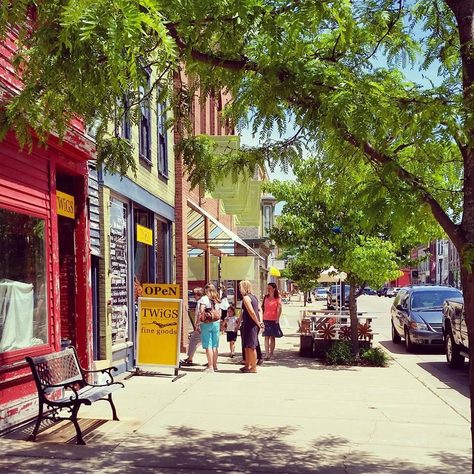 Water Street, Princeton's main drag