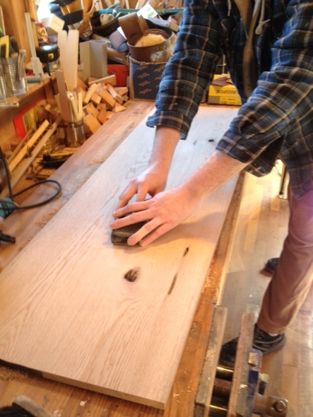 Heartwood production sanding.jpg