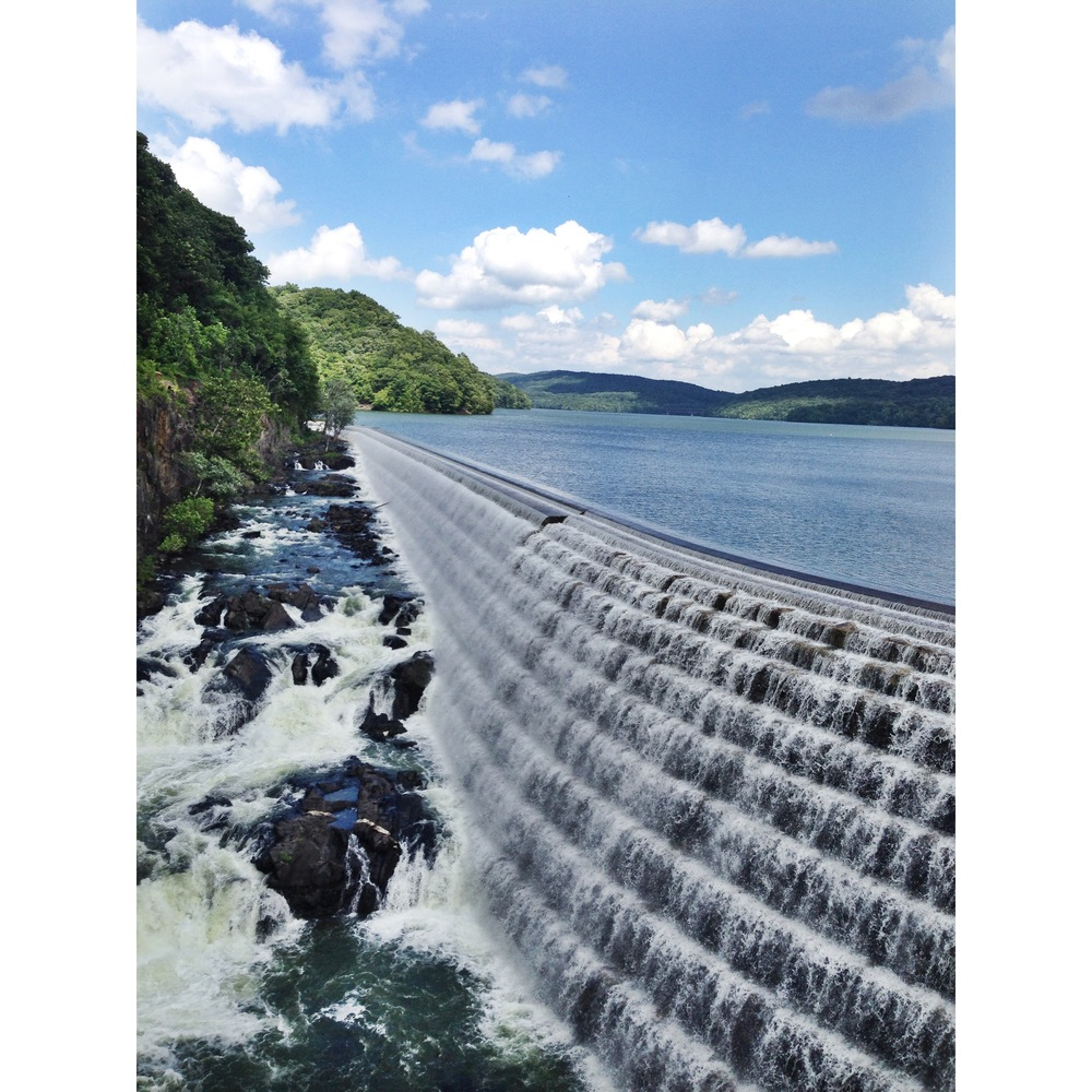 "One of my favorite spots in Croton-on-Hudson, NY. ""Croton is a dam town."""