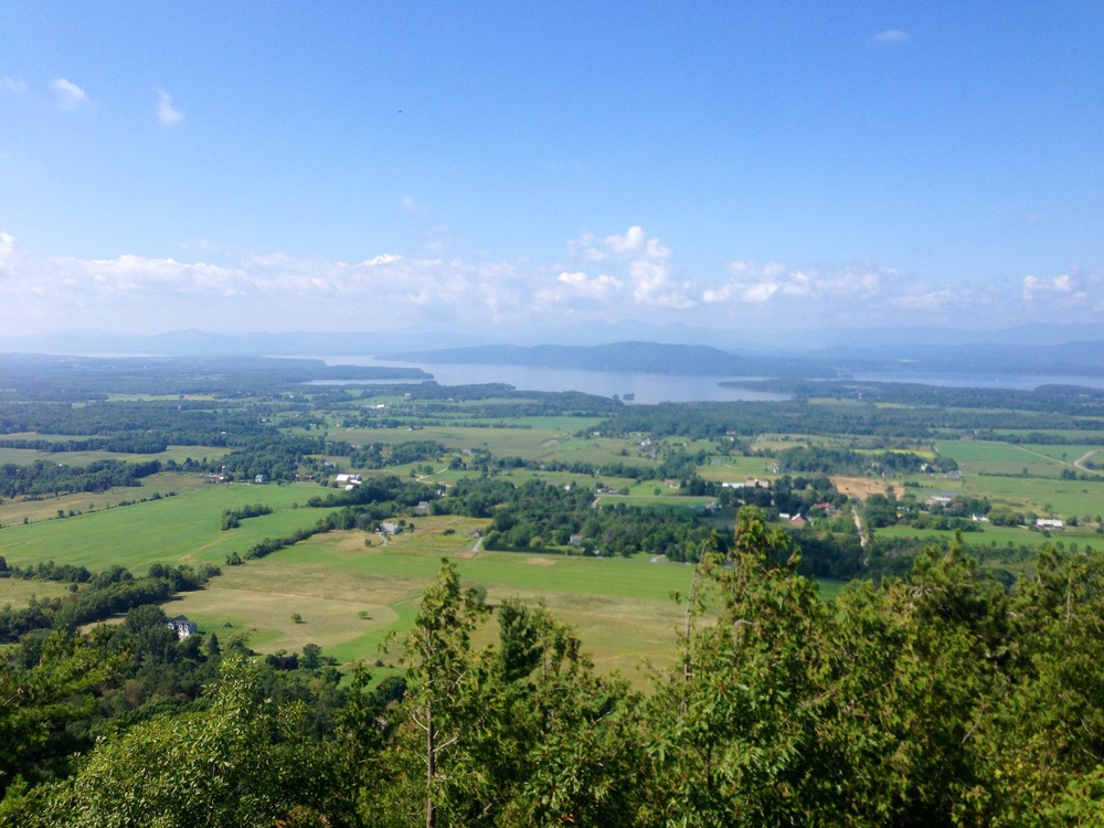 The view from Mt. Philo