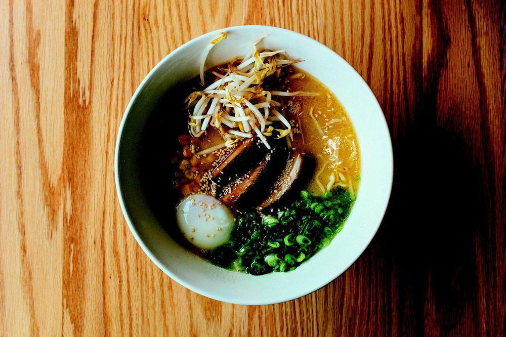 Uncle Restaurant ramen by Chip Kalback