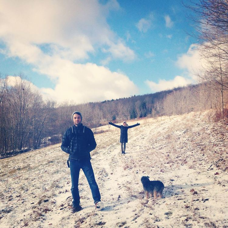 Lauren and her boyfriend in Upstate New York