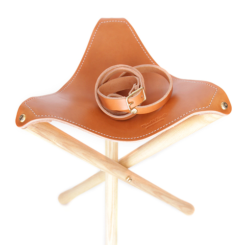 Wood & Faulk  camp stool