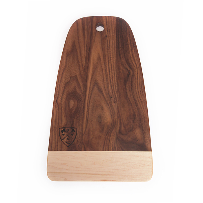 PS Woodworks two-tone cutting board
