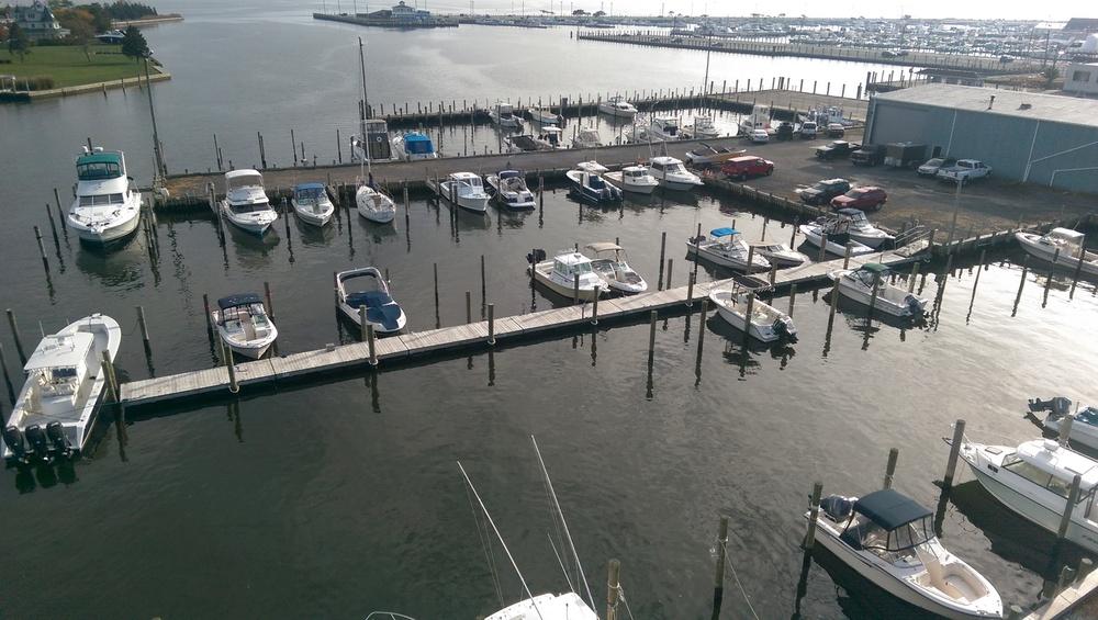 Floating Dock Near Side