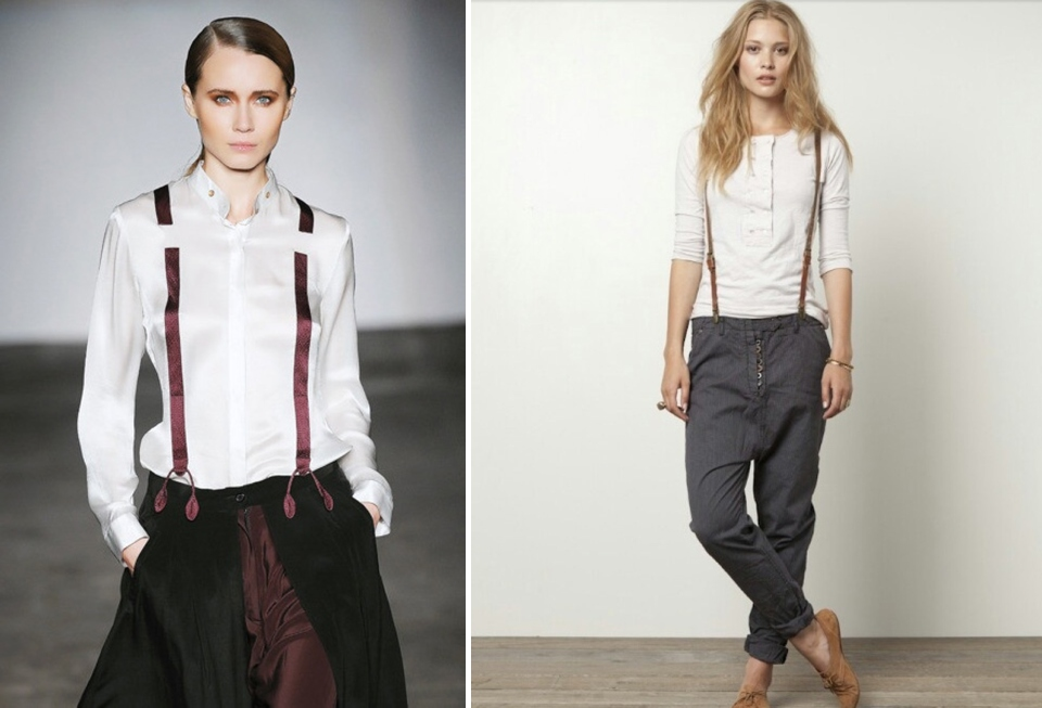 womens suspenders trend