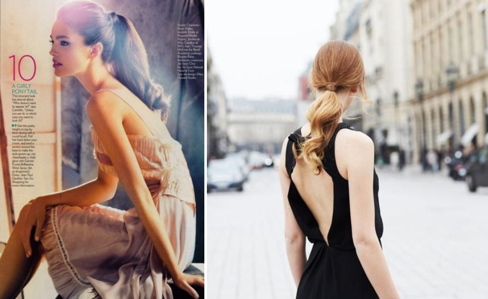 ponytail trend