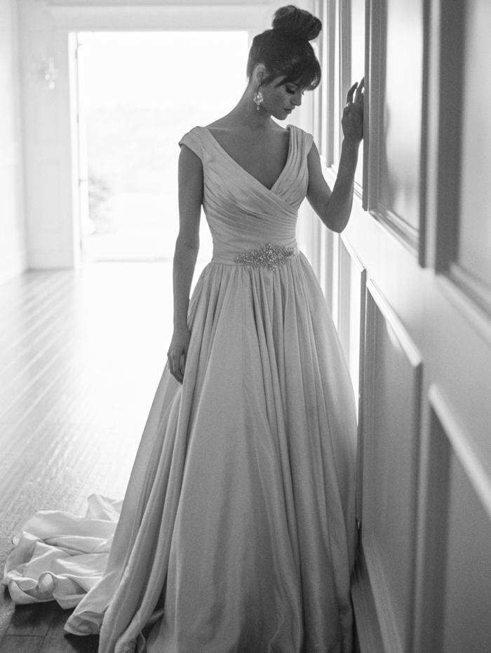 Allure Gown- LuLu's Bridal Boutique |Earrings- Stardust Celebrations