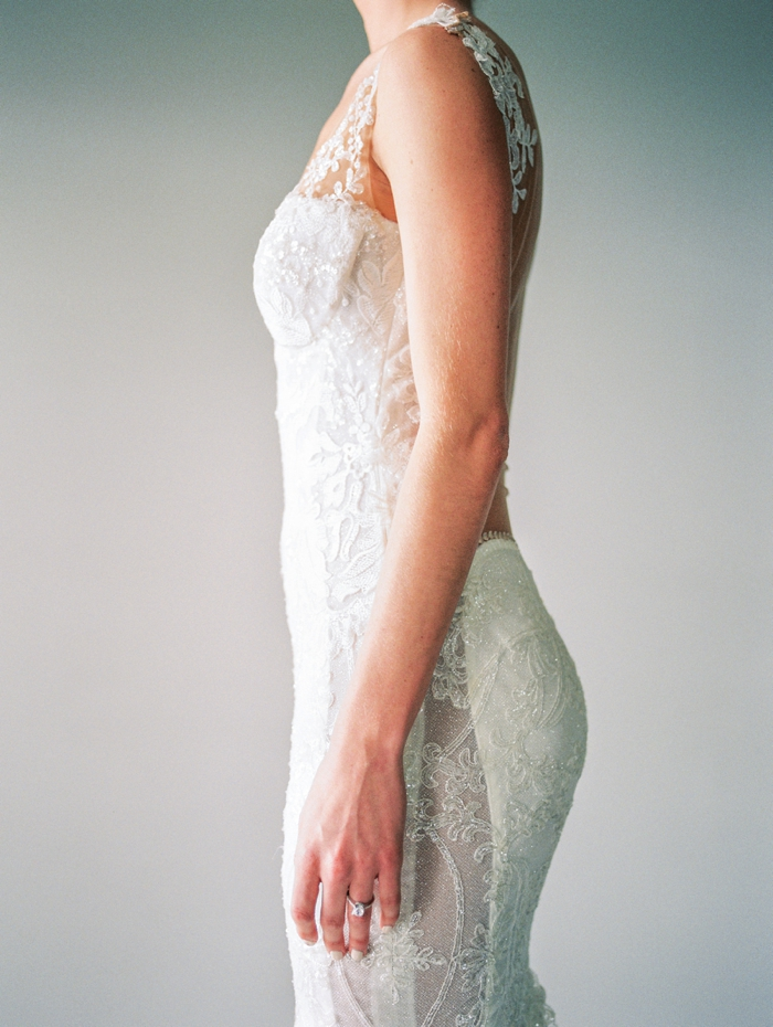 Galia Lahav Gown - The Brida Salon at Neiman Marcus| Earrings & Ring -Avior Jewelry