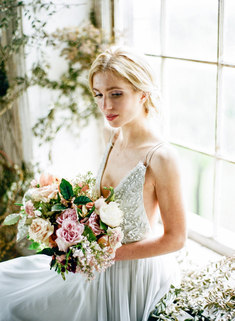 Muted Pastel Bridal Inspiration