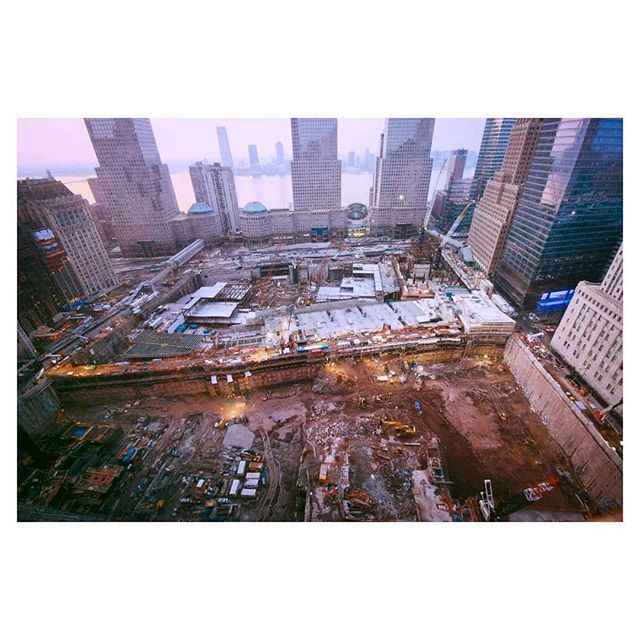 Ground Zero, March 2009 . . . #tbt #manhattan #construction #nyc #wtc #usa #architecture #nycprimeshot #agameoftones #violet #urban #nycdotgram #igersofnyc #made
