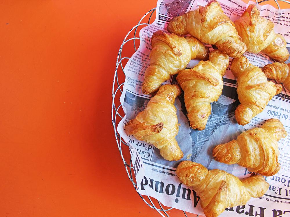 Croissants for days!
