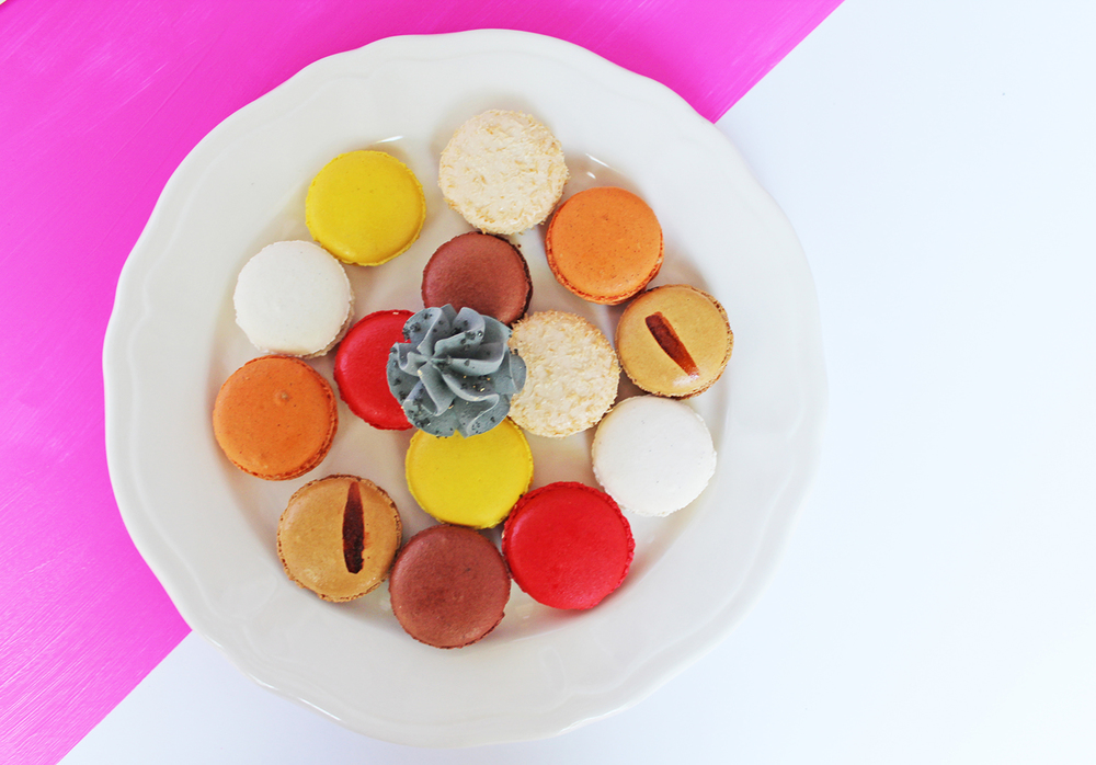 I had quite a few of these amazing macarons!