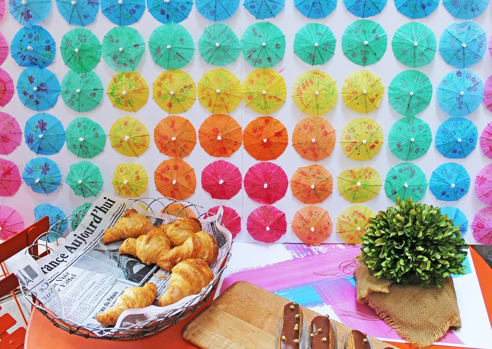 Backdrop at the #LABrunchParty!