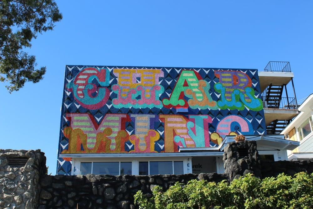 Yep - I said it, my favorite mural of the year!