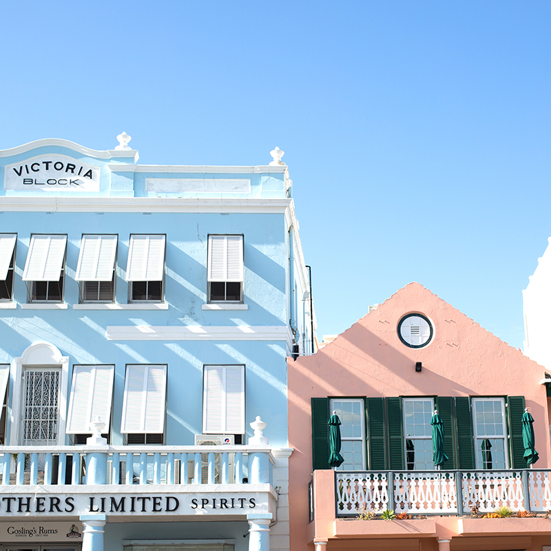 My favorite two cotton candy colors on front street!