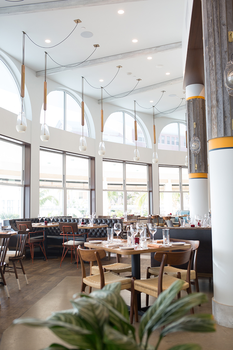 Our favorite dinner spot - Marcus' by Chef Marcus Samuelsson (you've definitely seen him on the Food Network!) located inside the hotel.
