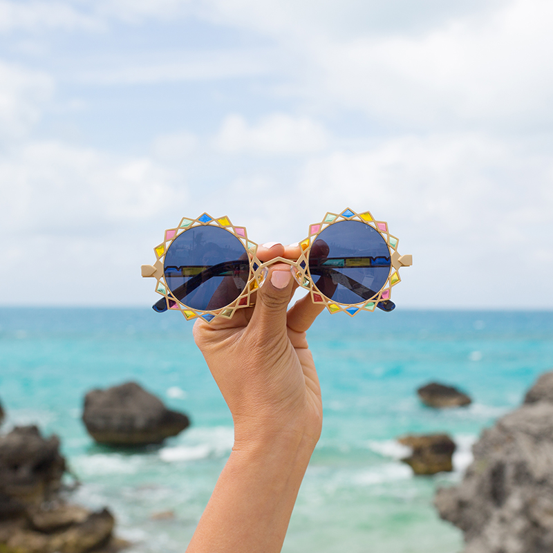 Pared Sunglasses by FH Bermuda @ the beautiful Tobacco Bay