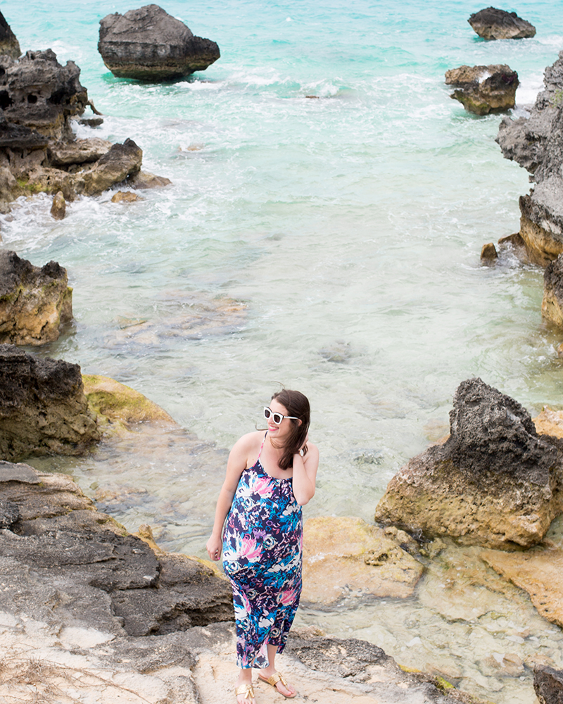 Dress by Luxury Gifts Bermuda, Sunglasses by FH Bermuda, photo by Amy Tangerine @ the beautiful Tobacco Bay