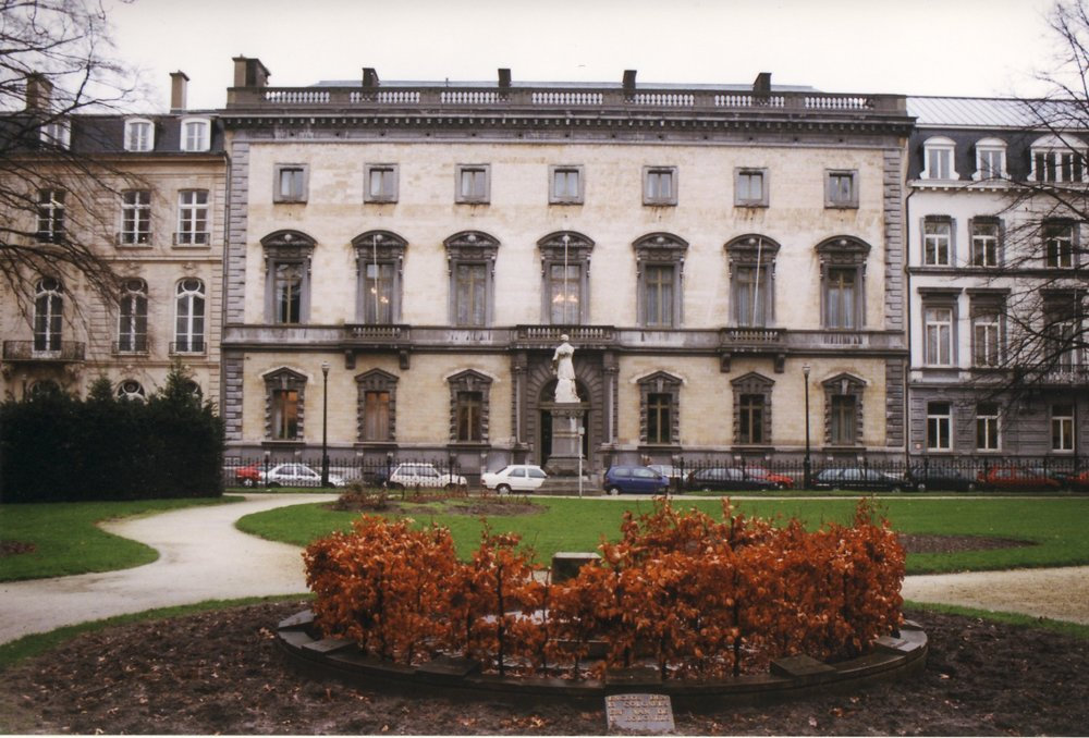 Palais du Marquis d'Assche in Brussels, home for Marjorie and her husband, the Ambassador to Belgium and Grand Duchy of Luxembourg the year proceeding WWII.