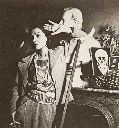 Gabrielle Chanel, 1939, by George Hoyningen-Huene
