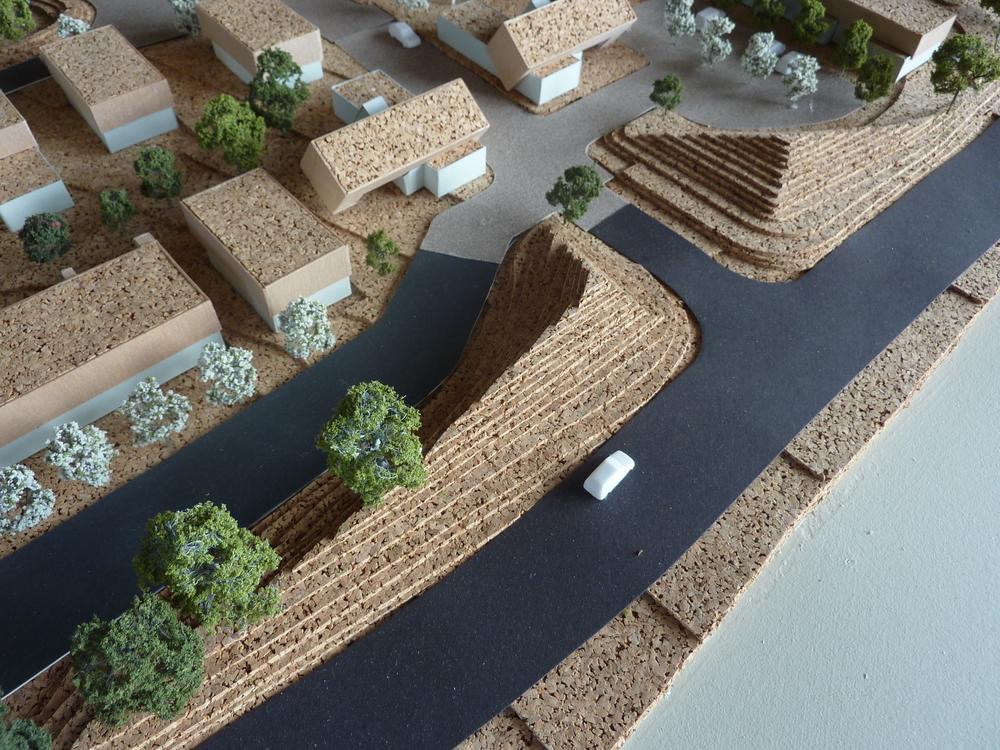 Preliminary model of LandhouseBRUTON