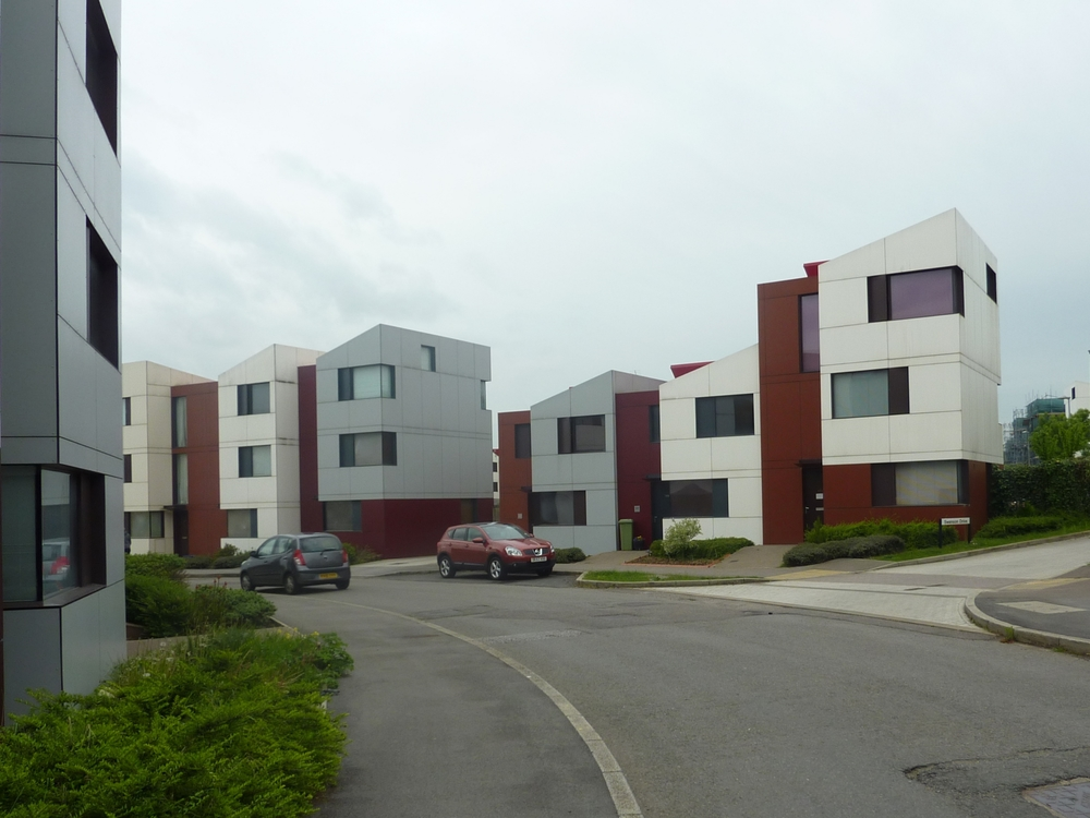 Street view of the Oxley Woods development