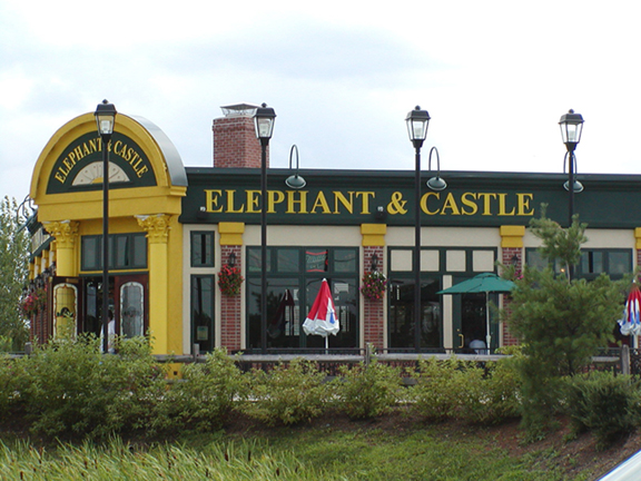 Elephant & Castle, Grove City, PA
