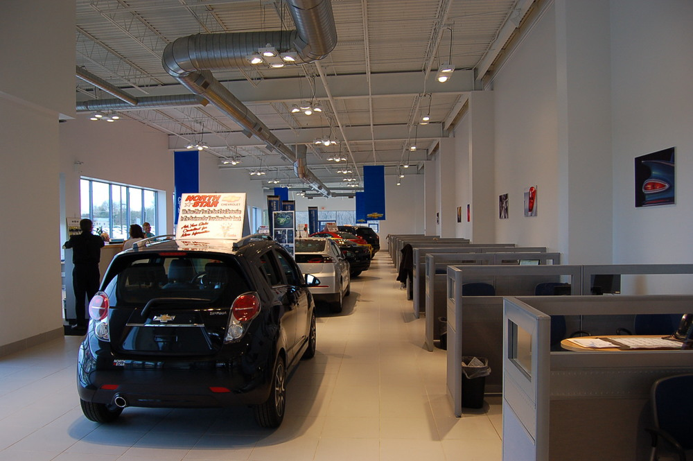 Northstar Chevrolet (interior), Moon Township, PA