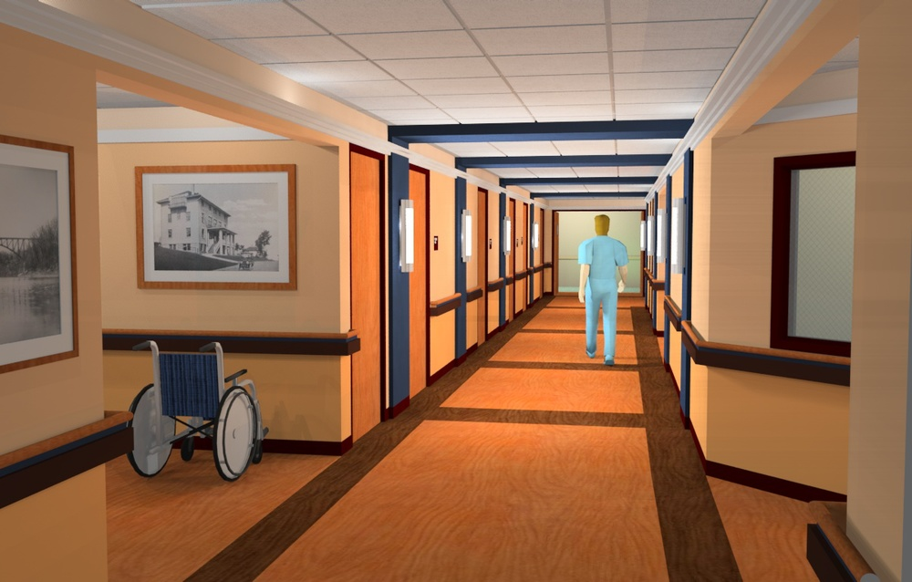 Ellwood City Hospital Rendering