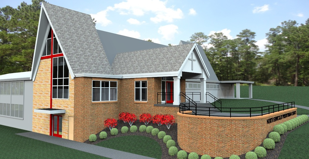 North Sewickley Presbyterian Church Rendering