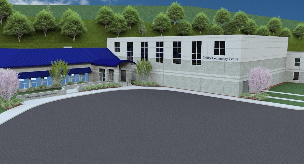 Collier Township Community Center rendering