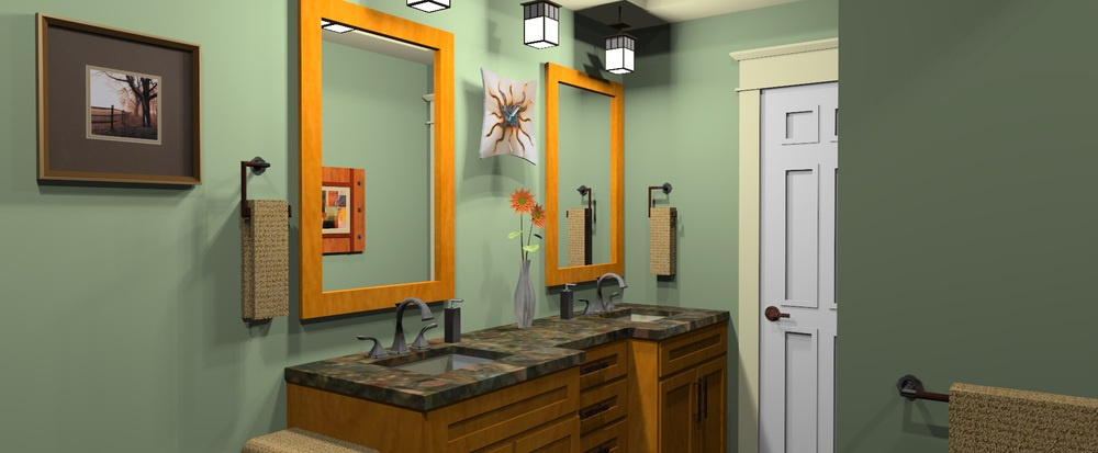 Proposed Bathroom Renovation (Rendering)