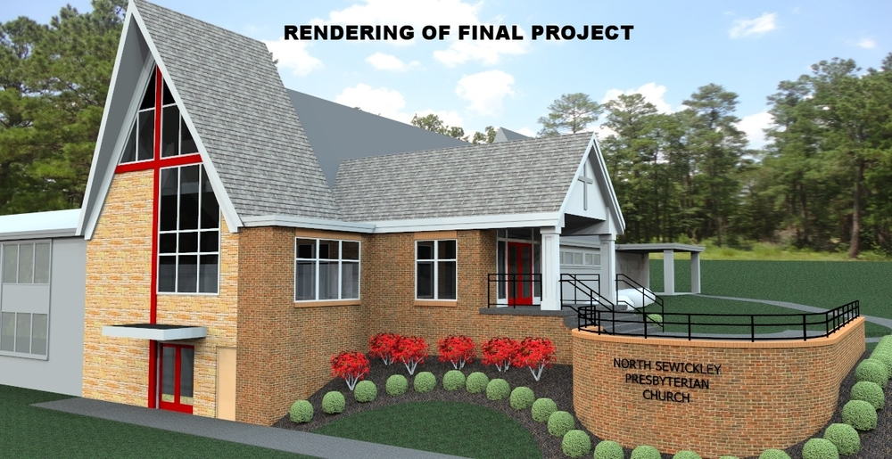 Rendering of North Sewickley Presbyterian Church