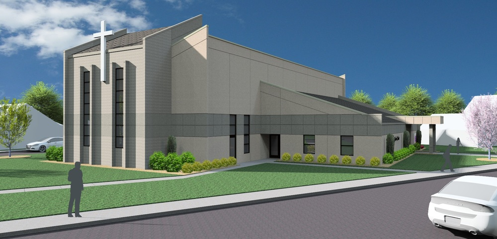 Rendering of Miracle Church of God in Christ