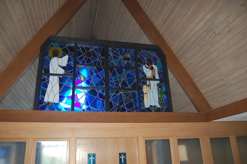 Stained glass at North Sewickley Presbyterian Church