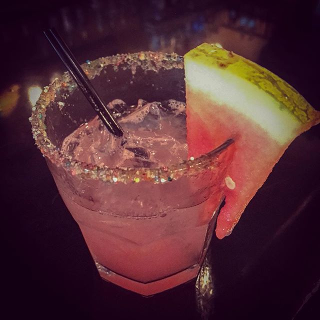🍉Watermelon Margaritas🍉 at @mesacoyoacannyc 🙌🏼