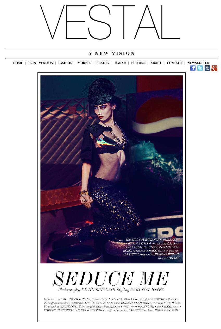 Vestal Magazine  / November 2012