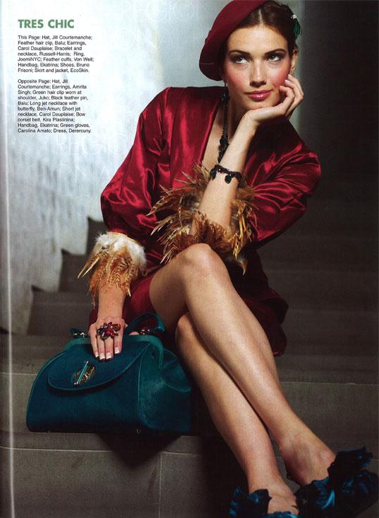 Accessories Magazine / August 2008