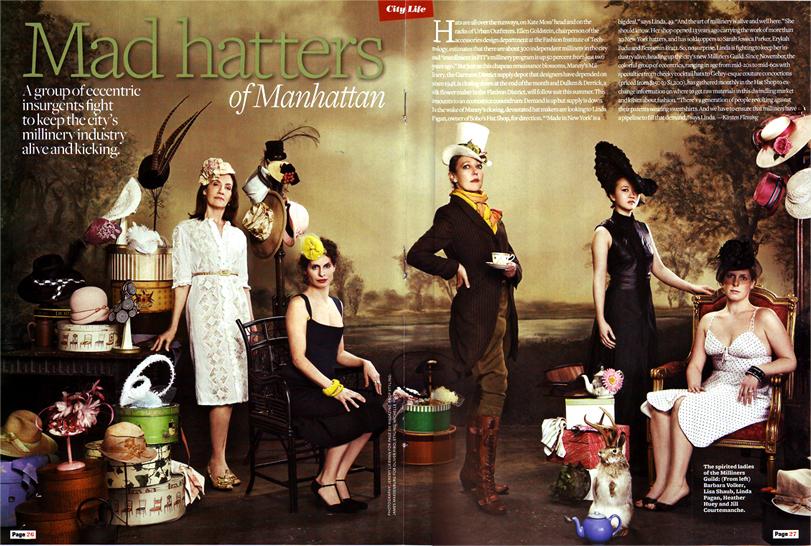 Page Six Magazine / 2008