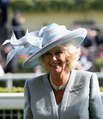 The Duchess of Cornwall on the first day of Royal Ascot