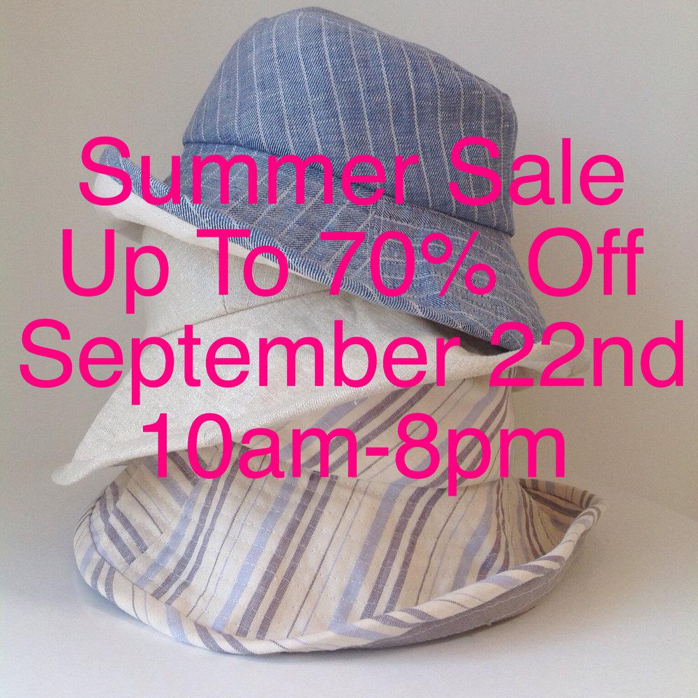Summer Sale! — Jill Courtemanche Millinery d7e959806