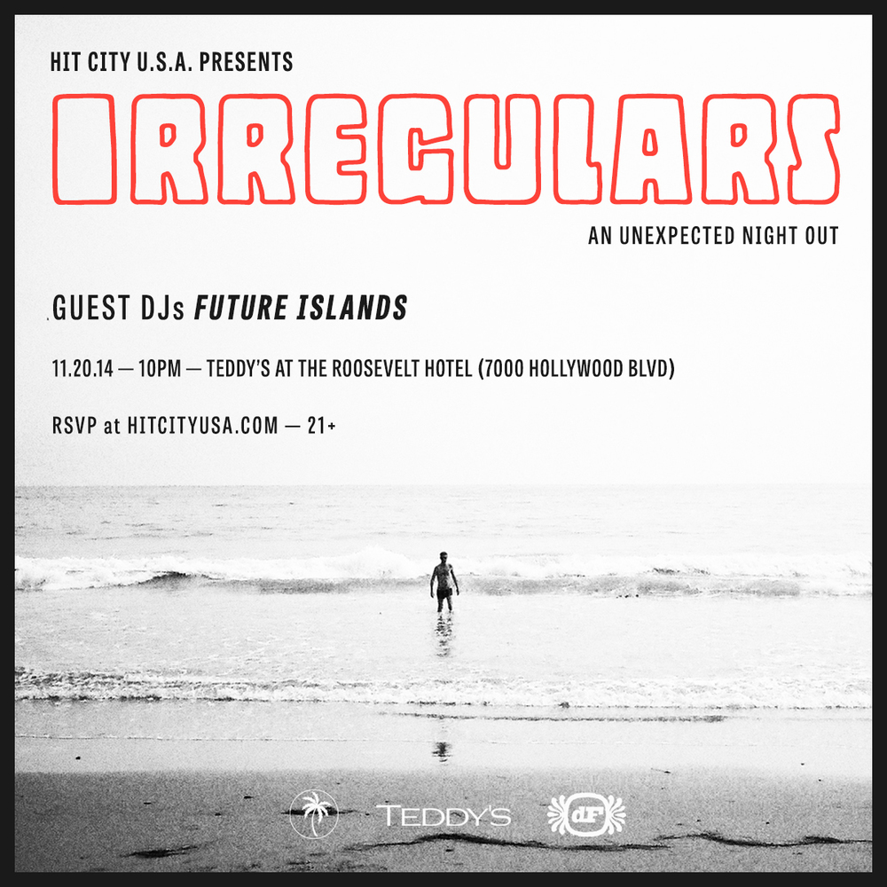 Irregulars w/ Future Islands & Cooper Saver