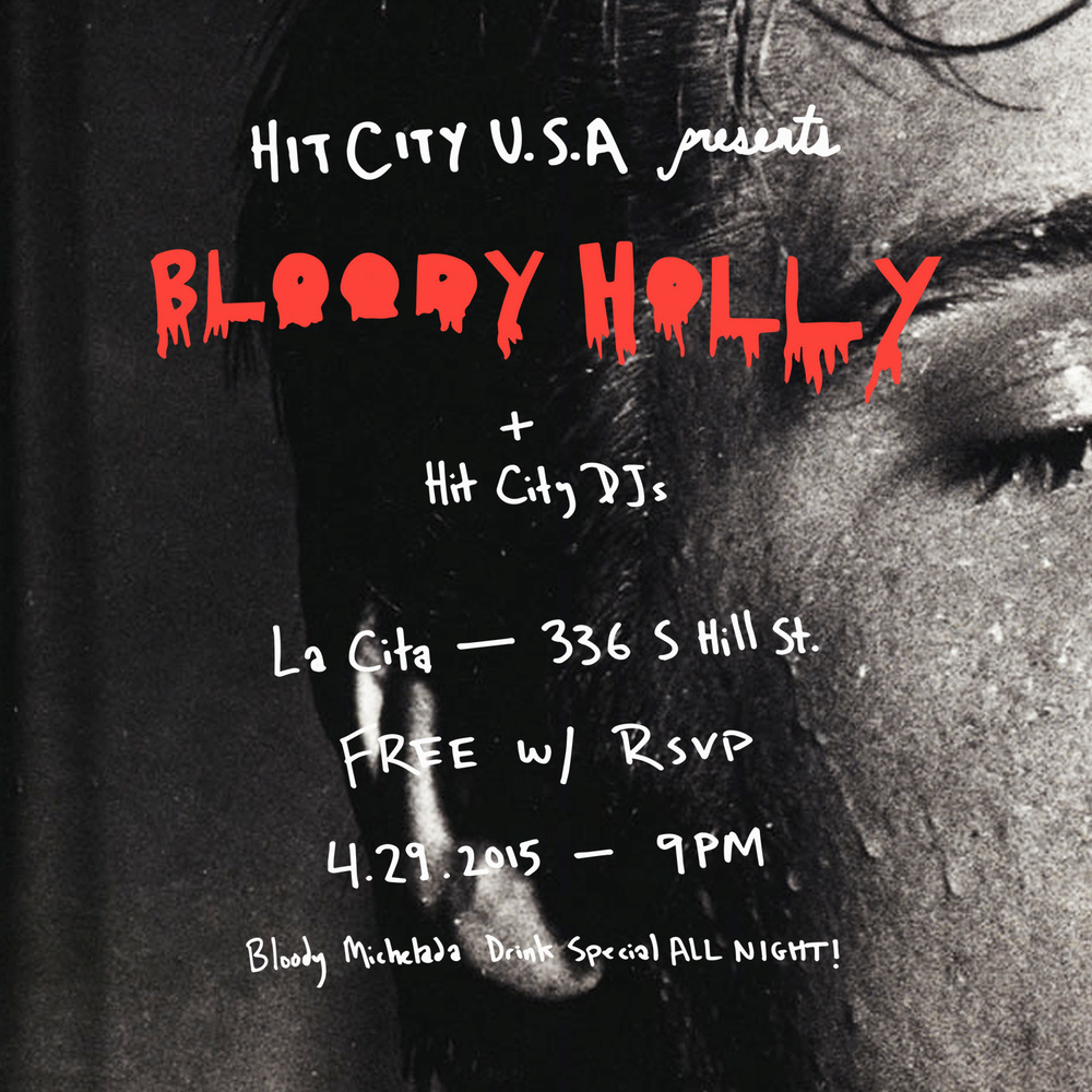 Bloody Holly LIVE at La Cita